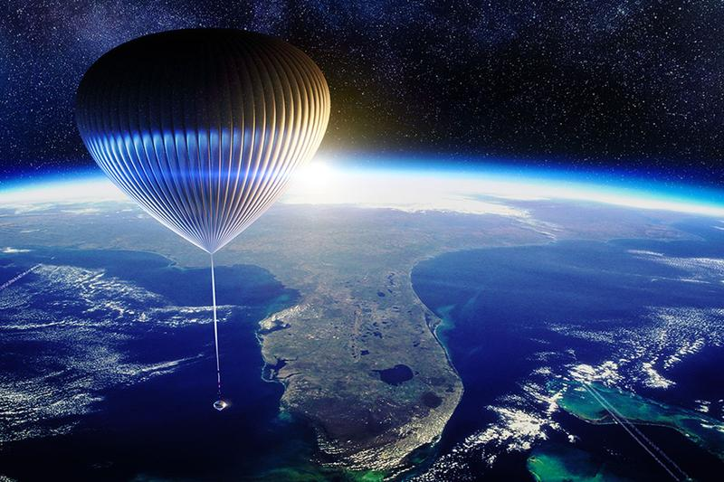 space perspective neptune balloon travel commercial flight atmosphere edge tourism
