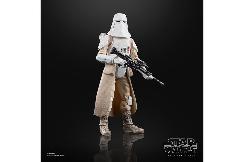 'Star Wars: The Empire Strikes Back' 40th anniversary Black Series Figures release info details luke skywalker snowtrooper hoth boba fett chewbacca darth vader memorabilia lucasfilm hasbro