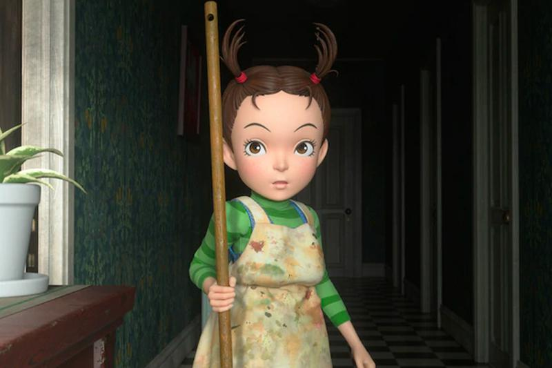 Studio Ghibli First CG Movie Aya and the Witch Earwig and the Witch First Look Release Info hayao miyazaki