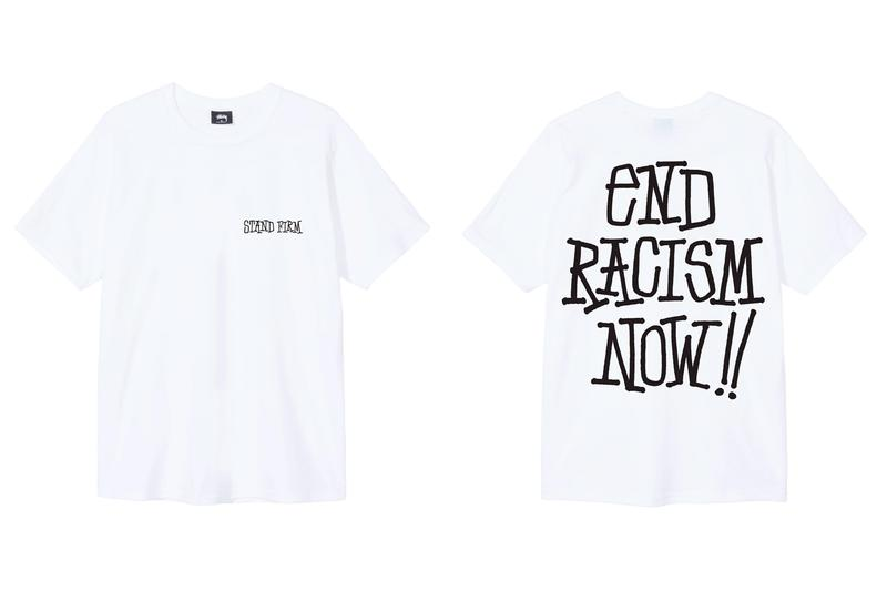 Stüssy End Racism T-Shirt Release Info Buy Price Black White