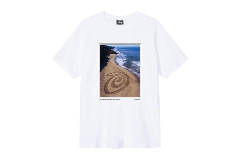 Stüssy x Jim Denevan for Summer 2020 T-Shirt Curly S Land Art