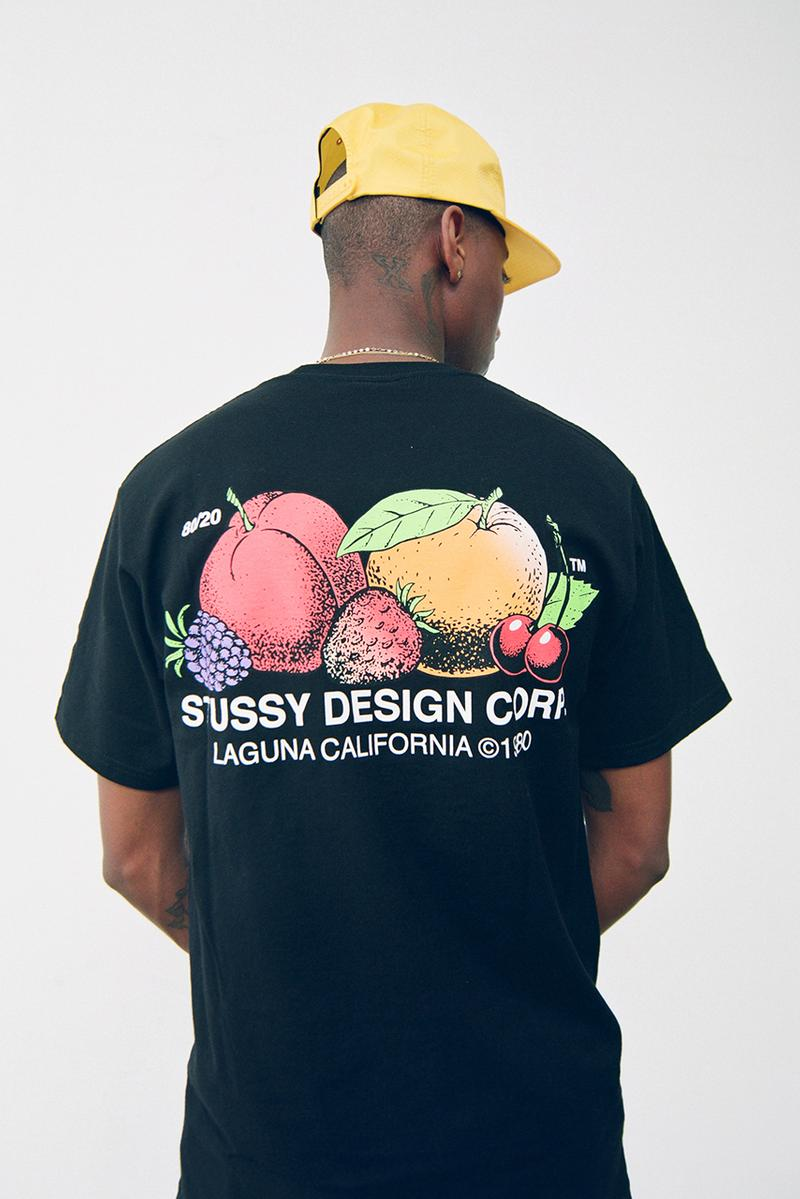 Stüssy Spring Summer 2020 Collection Lookbook ss20 menswear s logo print graphic release date info buy