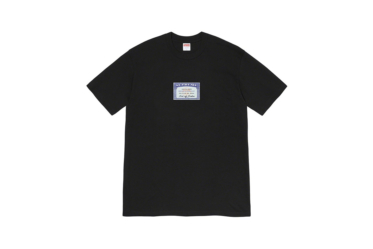 Supreme Summer 2020 t-shirt tees closer look first motion logo box dog frog takashi miike ichi the killer release information buy cop purchase details
