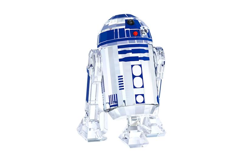 Swarovski Star Wars Crystal Set Princess Leia Master Yoda Darth Vader Luke Skywalker C-3PO R2-D2 Stormtrooper Death Star X-wing Lucasfilms Disney Movies Films Home Decor