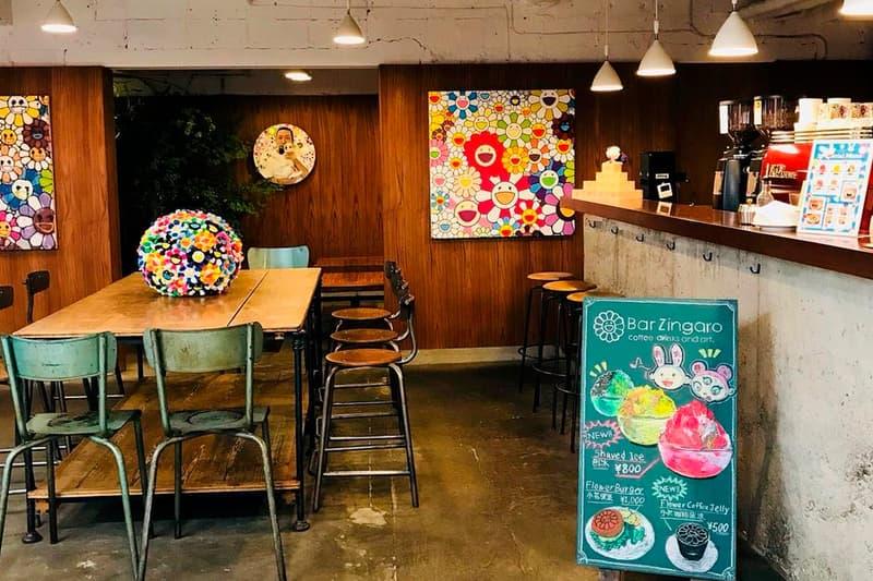 Takashi Murakami Bar Zingaro Cafe Closure Announcement Info Nakano Broadway Goodbye Special Opening