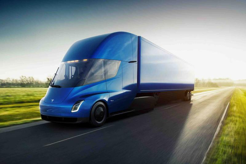 Tesla Semi Goes Into Production, Elon Musk Confirms truck shares rise class 8 electric
