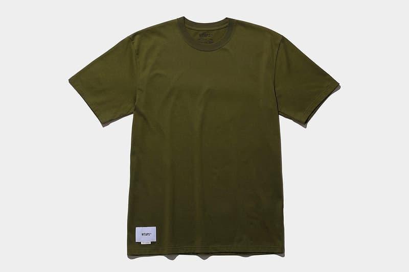 THE CONVENI WTAPS T-Shirt Pack Release Info Buy Price Khaki Black White
