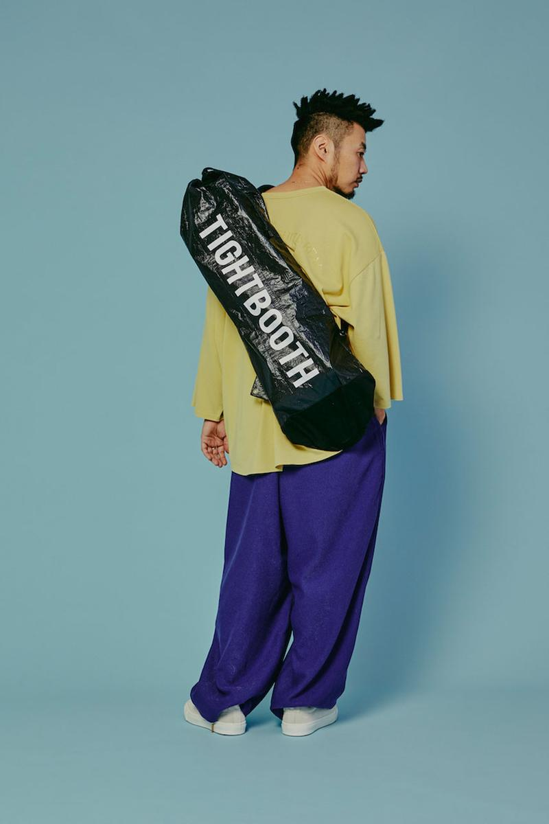 TIGHTBOOTH Summer 2020 Collection lookbook menswear streetwear ss20 graphics t shirts tees pants trousers bags shirts slacks button ups