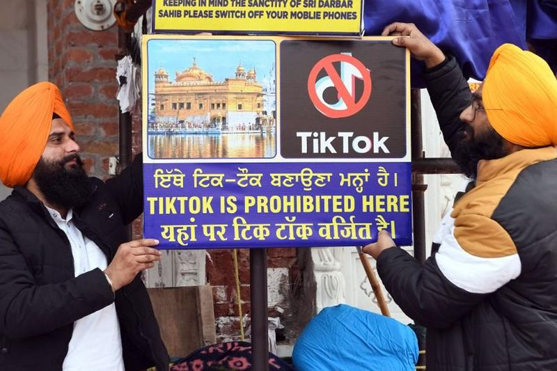 India Bans TikTok, Weibo, Alibaba, 59 Chinese Apps information technology ministry bytedance new delhi
