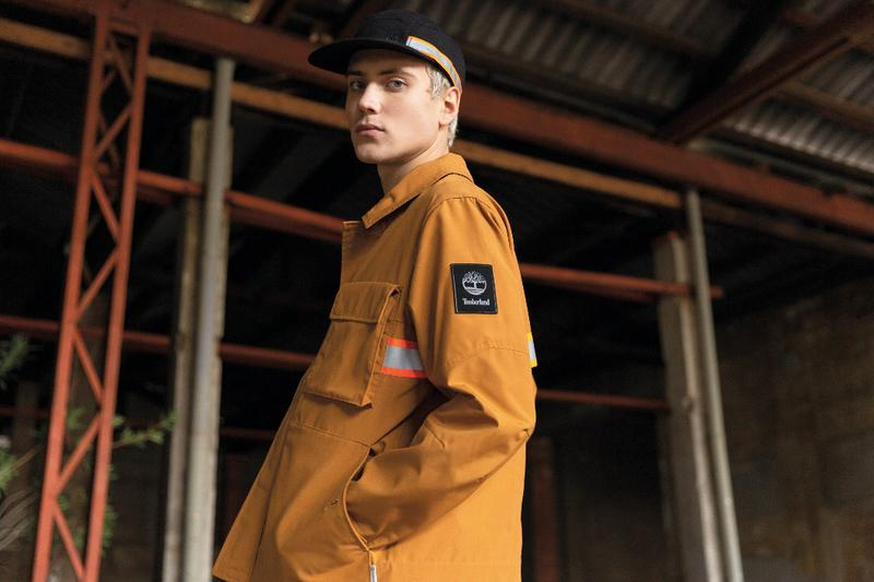 Timberland Recycled Workwear Collection ReBOTL Jackets Outerwear Brooklyn Super Sneakers Shoes Footwear Pants