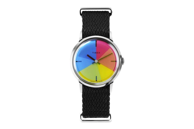 Todd Snyder x Timex Pride Month Watch LGBTQ+ Pride week Pride Month colors Gilbert Baker watches accessories