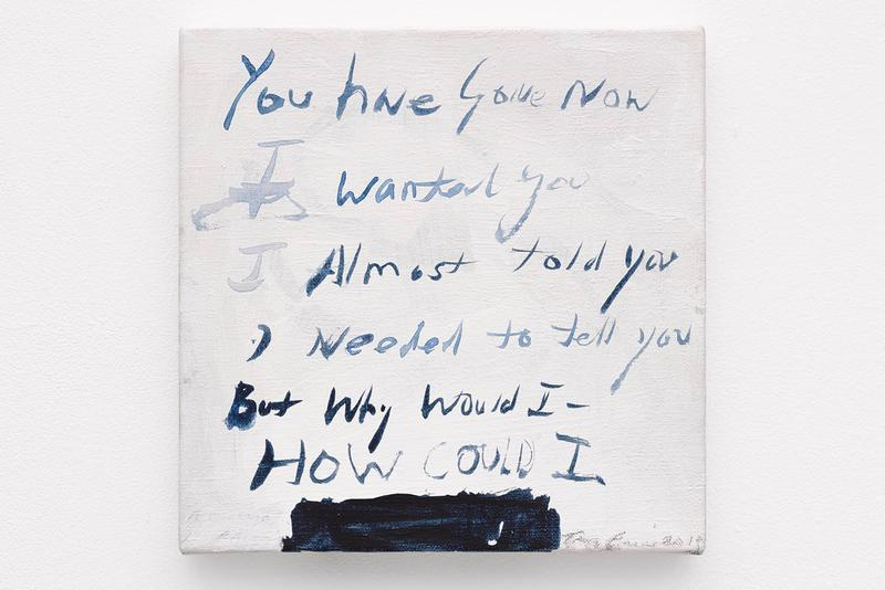 tracey emin i thrive on solitude white cube hong kong online exhibition