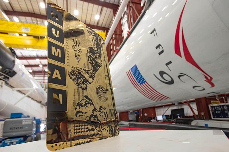 Tristan Eaton Indestructible Artwork SpaceX Crew Dragon elon musk nasa international space station iss