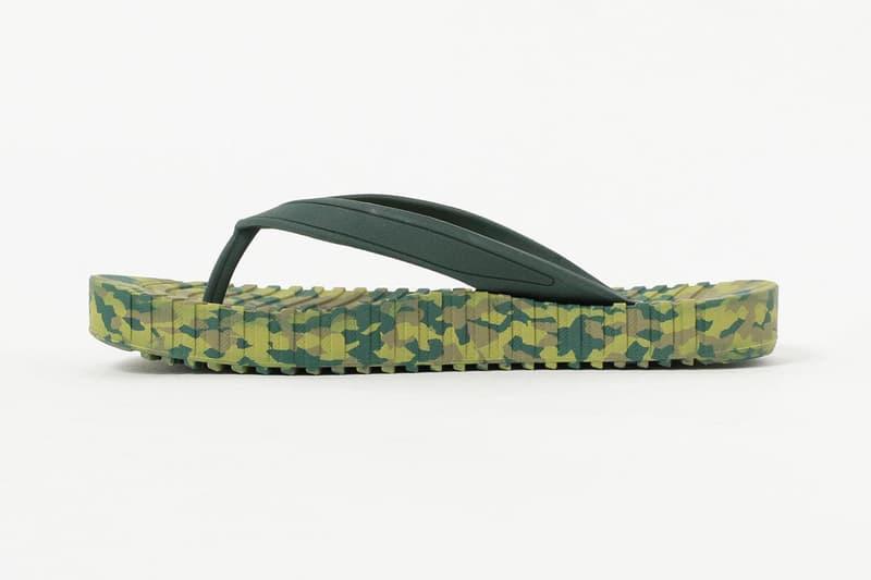 ts(s) x Suicoke Von Sandal SS20 Flip-Flop Collaboration spring summer 2020 vibram camouflage pattern print japan release date info buy