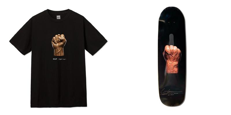 Haroshi HUF Justice T-shirt Release Skate Deck Auction Info Buy Price