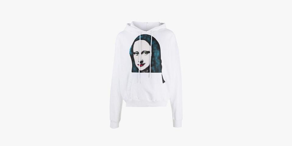 Off-White™ Drops Tri-Colored 'Mona Lisa' Hoodie