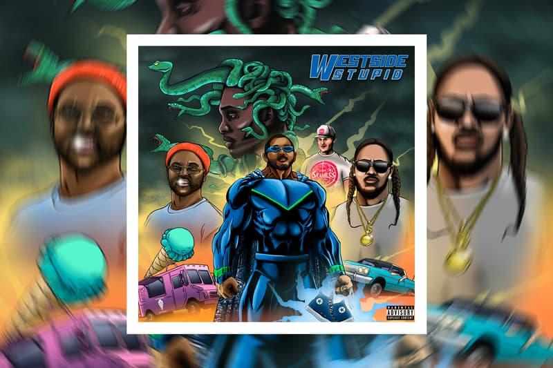 "Uce Lee x T.F ""Westside Stupid"" Feat. ScHoolboy Q Single Stream hip-hop west coast"