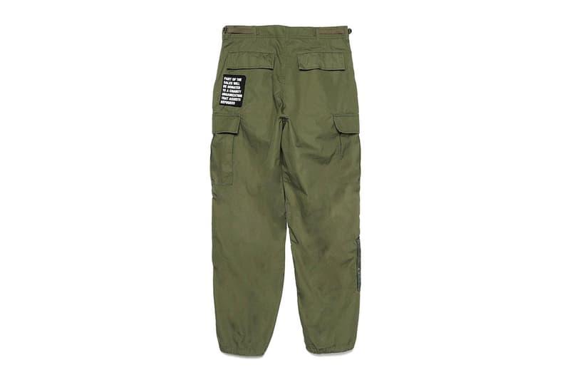 Mars89 UNDERCOVER 2020 Capsule menswear streetwear spring summer collection lineup military field jacket pants bermuda pants bdu graphic t shirts tees long sleeves