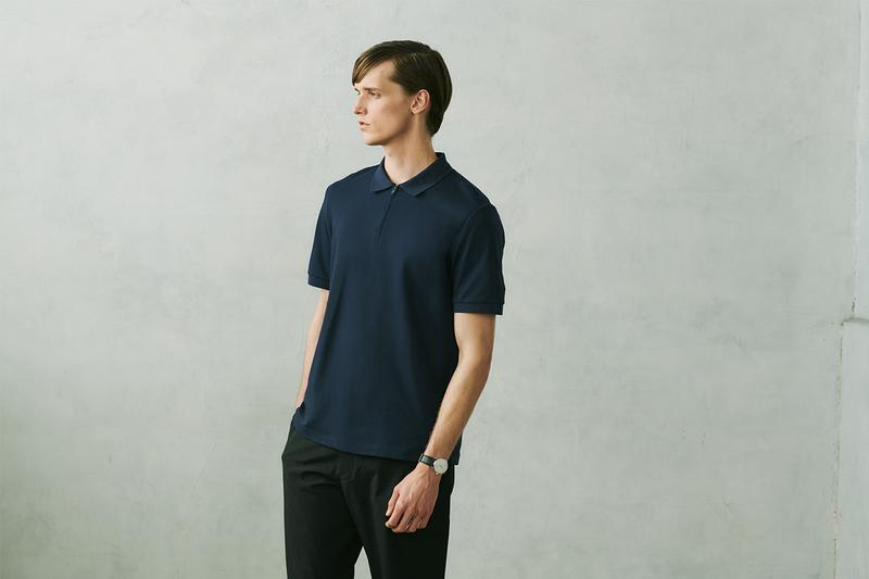 UNIQLO Theory Spring Summer 2020 Capsule menswear streetwear womenswear collection lookbook fast fashion minimalism nuanced subtle sartorial polo shirt trousers