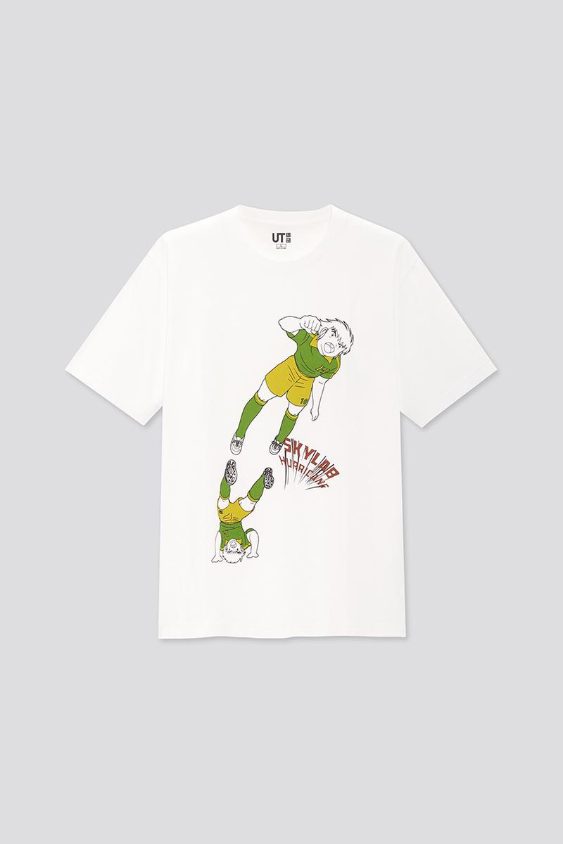 Uniqlo UT Summer 2020 Manga UT Collection Sport Capsule Graphic T-Shirts Japanese Animated Series Anime Tsubasa Ozora 'Captain Tsubasa'  'Ashita No Joe' 'Ping Pong'