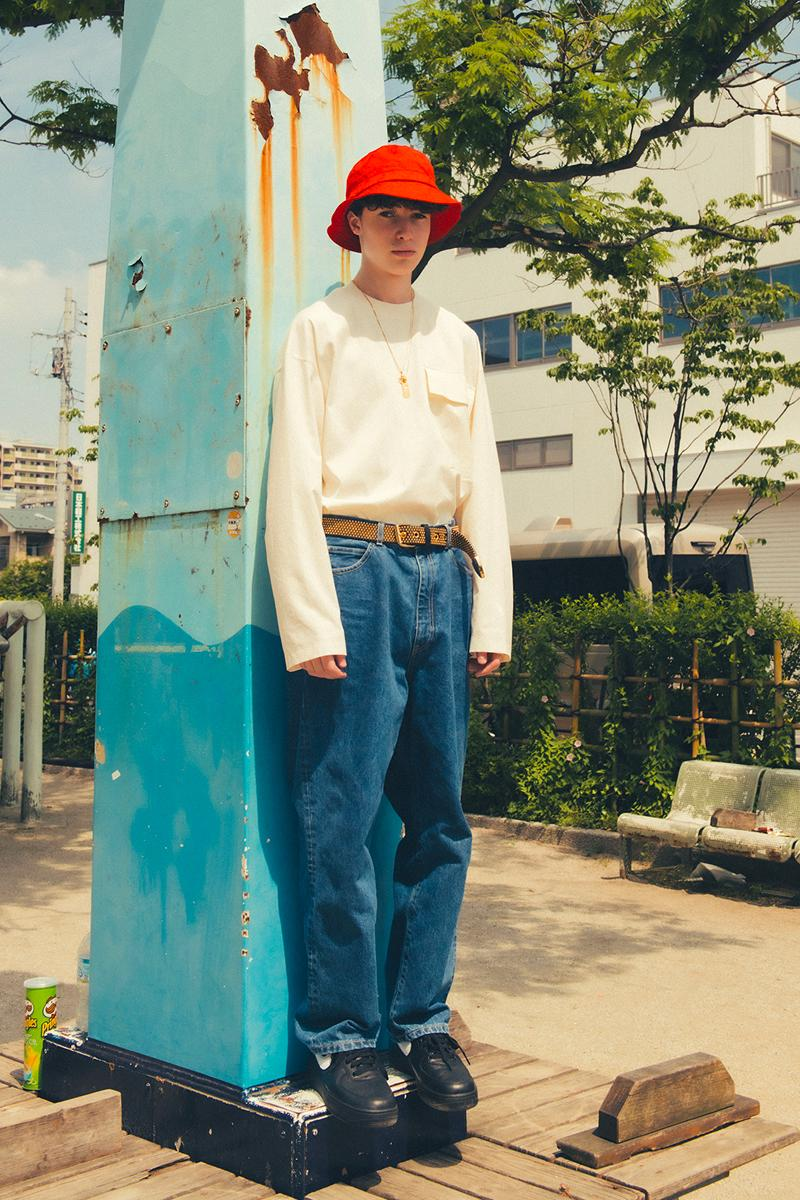 UNITED ARROWS SONS Spring Summer 2020 Lookbook menswear streetwear collection capsule japanese label t shirt tees pants khaki polo oversized denim pants