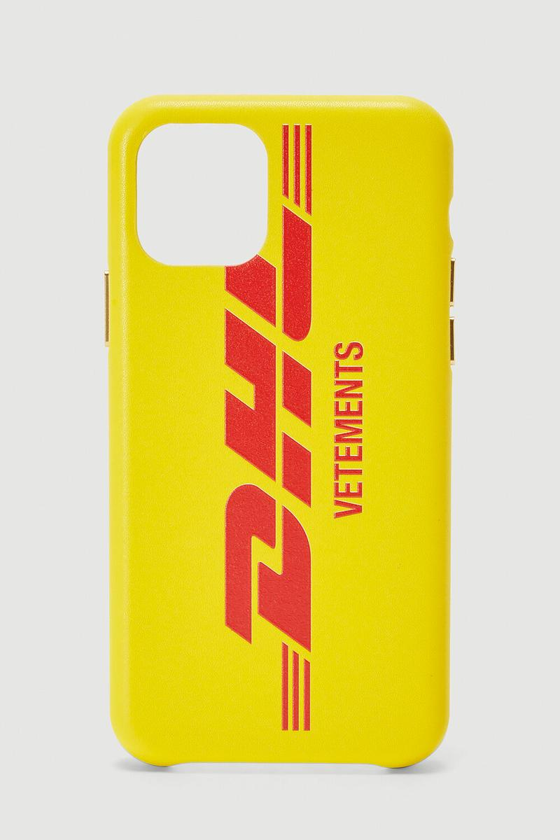 Vetements x DHL Apple iPhone 11 Case Release Info red yellow 2017 2018