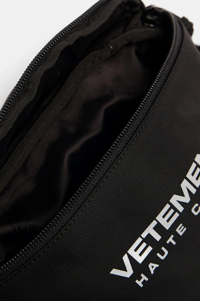 Vetements Reflector Haute Couture-print nylon Anarchy embroidered-logo belt bag MatchesFashion.Com Guram Gvasalia Bum Bags 1369912 1369913