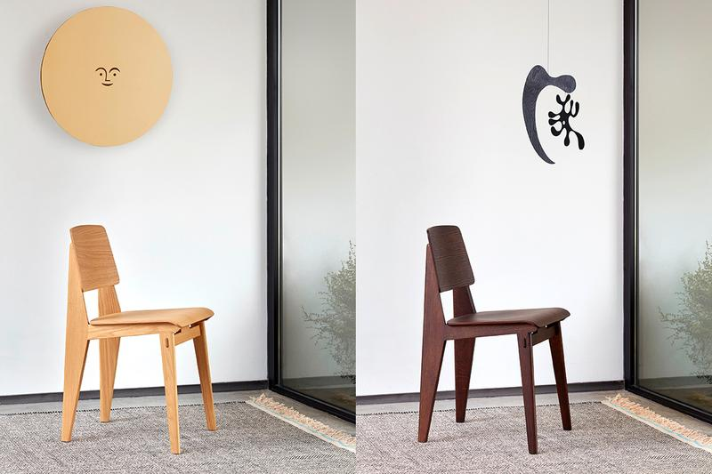 Vitra Reissues Jean Prouvé's 1941 Chaise Tout Bois Chair Release Information VDF First Look Period Classic Design Chairs French Architect Wooden Meubles de France
