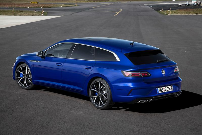 Volkswagen Arteon R Shooting Brake Unveiled First Look Release Information New Family Car German Automotive Four Door Fast Power Performance V4 Turbo