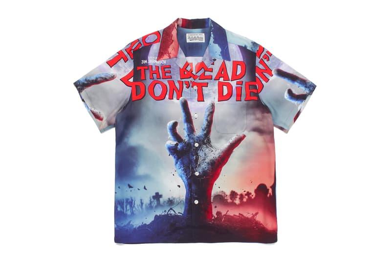 JIM JARMUSCH WACKO MARIA THE DEAD DONT DIE Capsule collection menswear streetwear spring summer 2020 project movie films tokyo japanese Hawaiian Shirt