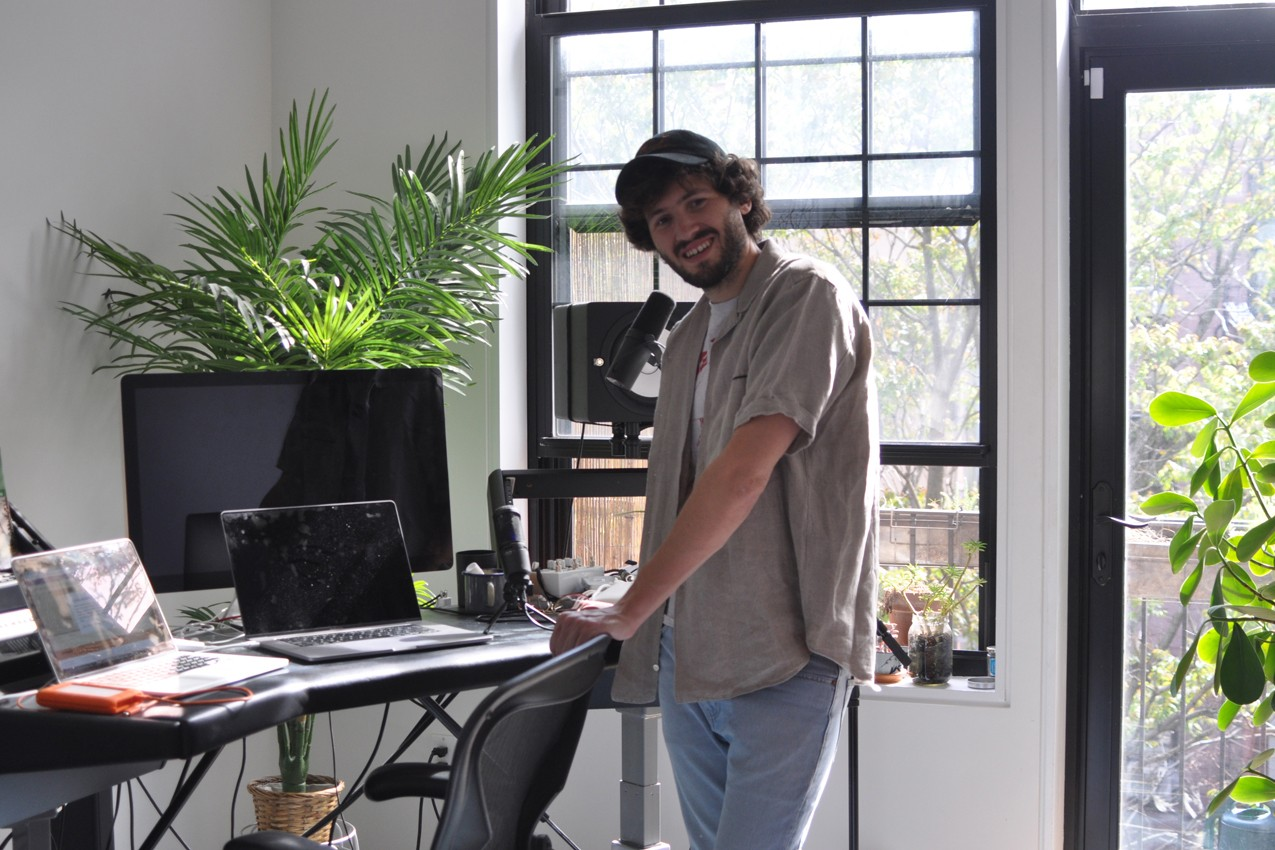 Work From Home Style Advice Baauer Interview musician home Harry Bauer Rodrigues