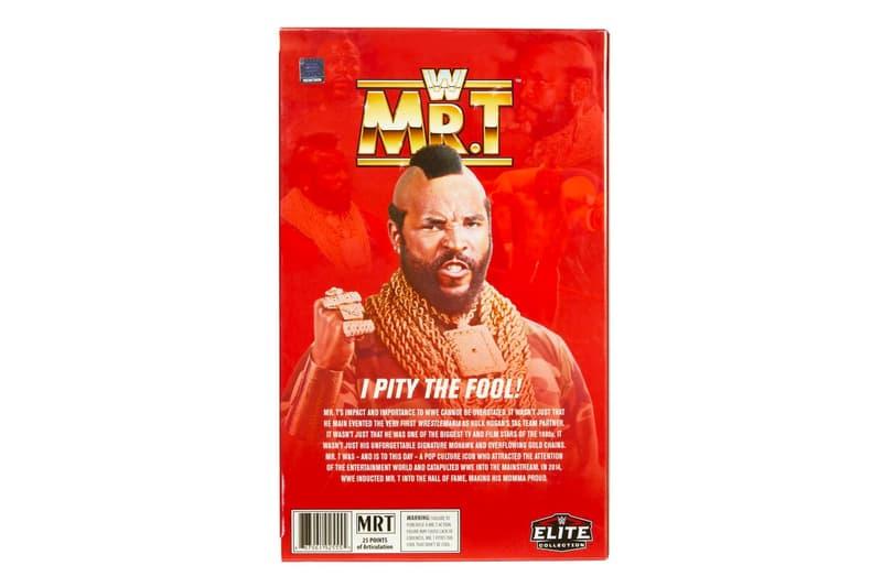 WWE Mr. T Elite Mattel Action Figure  2020 san Diego Comic Con A-Team WWF WWE wrestling action figures toys