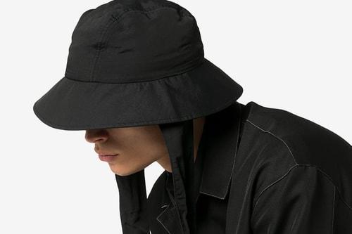 Y-3 Drops Sleek Triple Black Bucket Hat