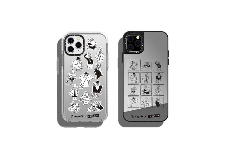 CASETiFY Signs Yu Nagaba Quirky Illustrations drawings depictions iphone case airpod accessories macbook stickers wireless chargers