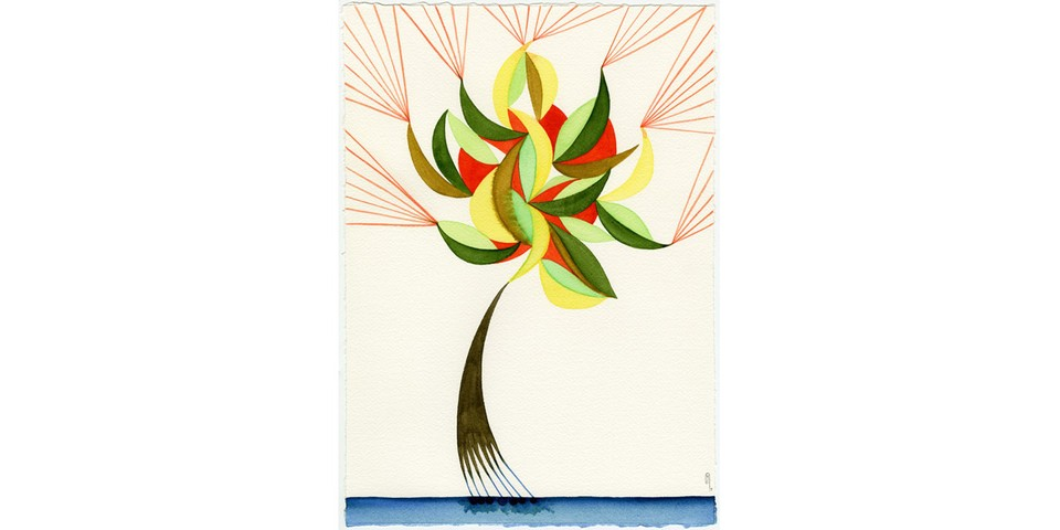 "Yuri Shimojo Presents Whimsical Watercolor Paintings of ""Home Sweet Home"""