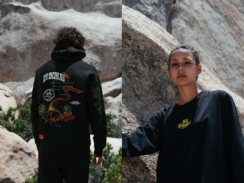 100 Thieves No Camping Collection Lookbook