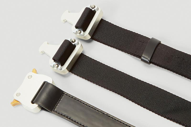 1017 ALYX 9SM Double Buckle Rollercoaster Belt menswear streetwear spring summer 2020 collection ss20 matthew m williams accessories