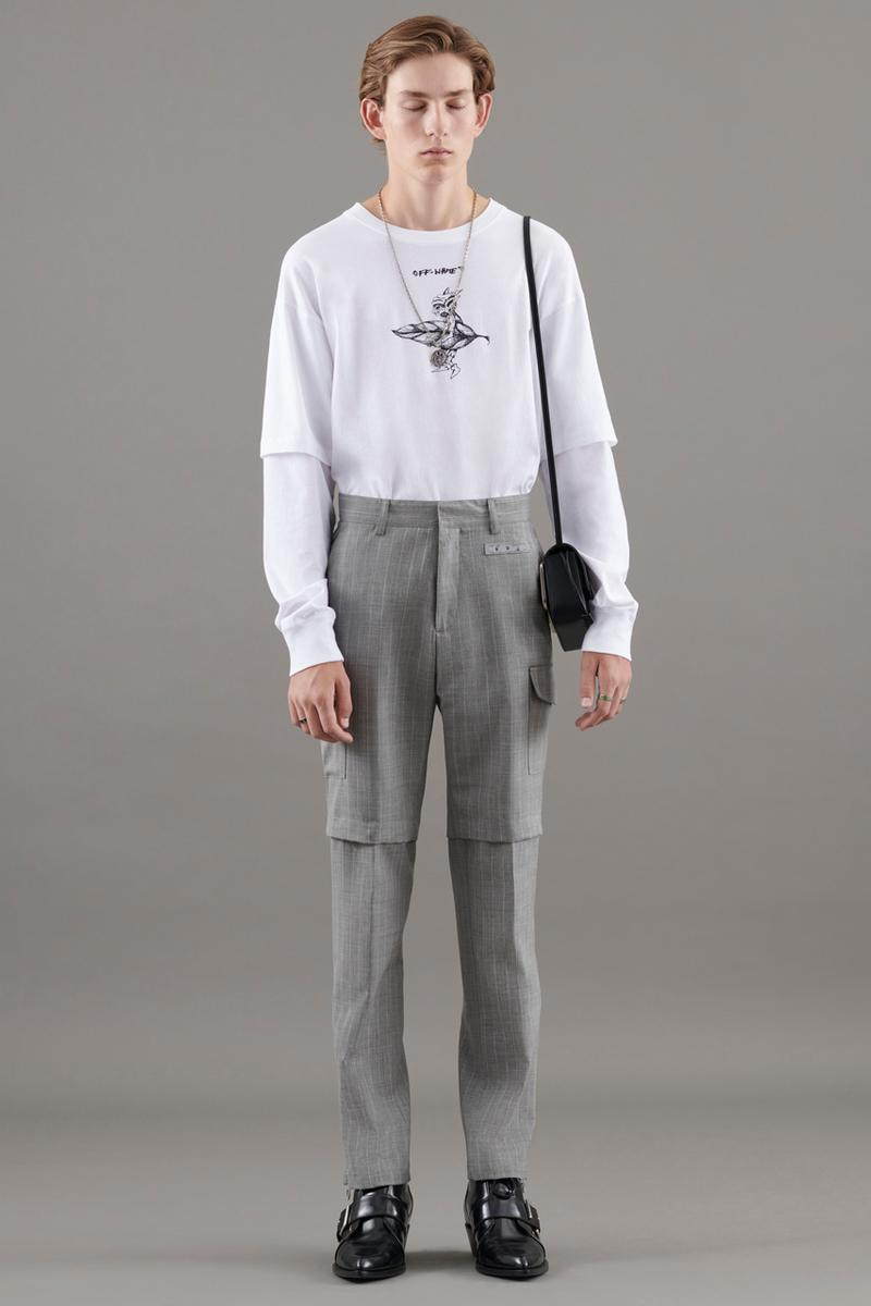 """Off-White™ Spring/Summer 2021 Men's Pre-Collection """"What Stars Are You Under?"""" Lookbook Pointy Toe Boots Glow Sneakers Accessories Virgil Ablol Streetwear Luxury Hype Heat Clothing Tailoring"""