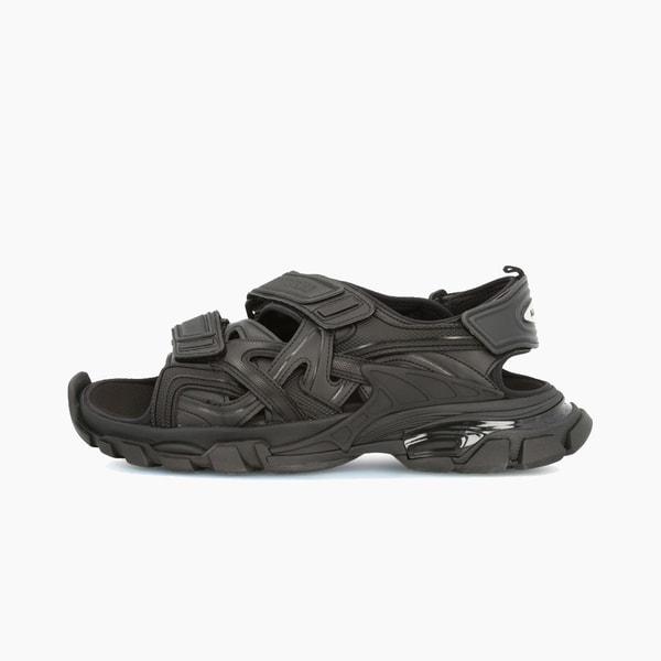 Balenciaga Track Sandal Matte Black