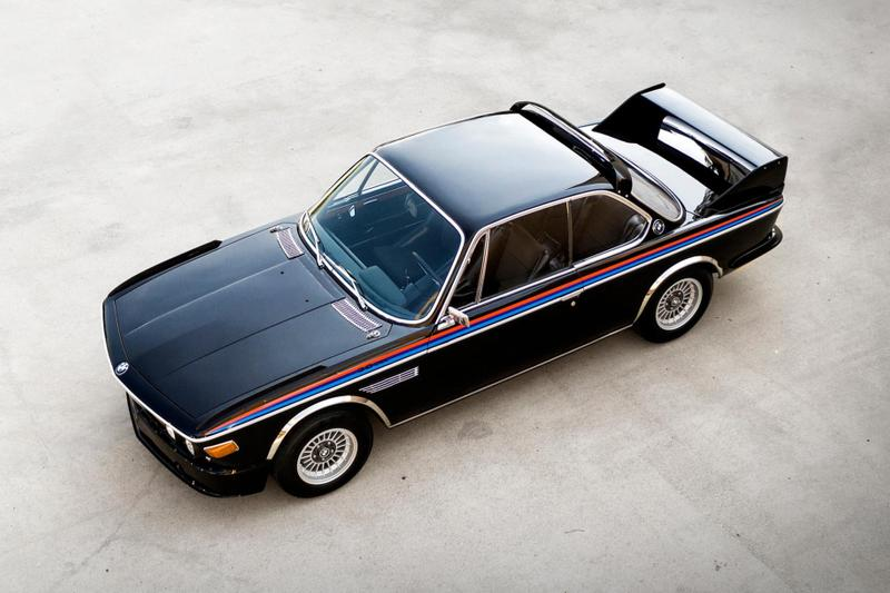 1972 BMW 3.0 CSL 3.5L 5-Speed Bring a Trailer Auction Classic German Car Batmobile Cars Vintage Sportscar Decal 169 Limited Edition