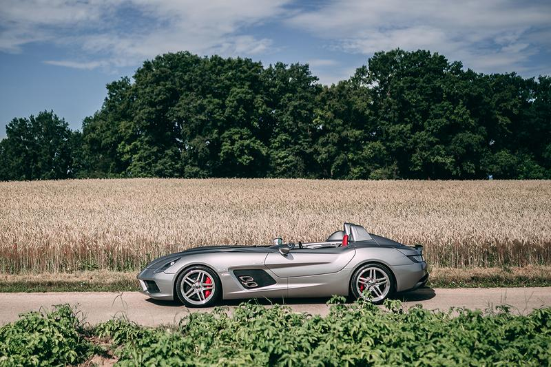 2009 Mercedes-Benz SLR McLaren Stirling Moss RM Sotheby's Auction For Sale €1,900,000 - €2,200,000 EUR Euros German-British Automotive Racing Limited Edition Heritage Modern Classic Supercar Hyper Car Merc