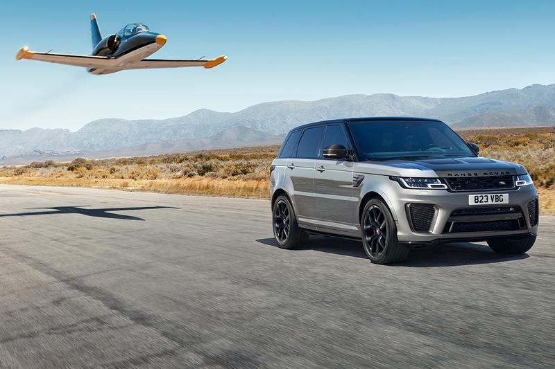 "Land Rover Range Rover Sport SVR ""Carbon Edition"" SUVs New Release Information British Engineering Family Supercar 575 BHP V8 Engine Truck 4x4 Off Road Luxury Travel Automotive"
