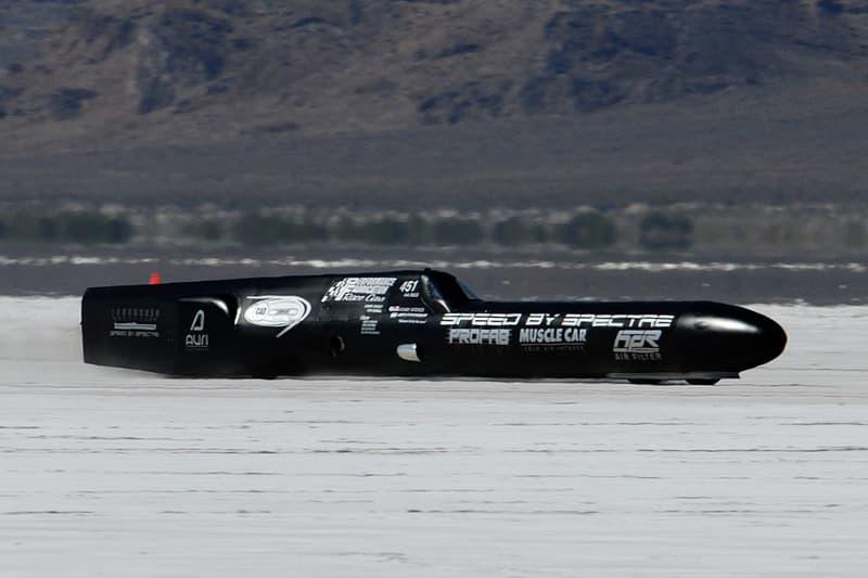 400 MPH Bonneville Land Speed Streamliner For Sale Bring a Trailer Record Holder Salt Flats Modified Cadillac V8 Engine Piston Fast Cars Hypercar