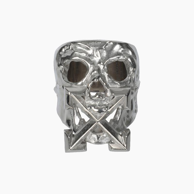 Off-White™ Silver-Toned Punk Ring Release Where to buy Price 2020 Virgil Alboh