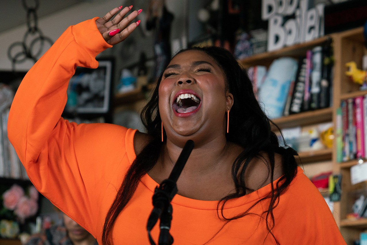 NPR Tiny Desk Concert Black Artists Musicians Bobby Carter Lizzo Jorja Smith T Pain Tyler the Creator Erykah Badu Megan Thee Stallion