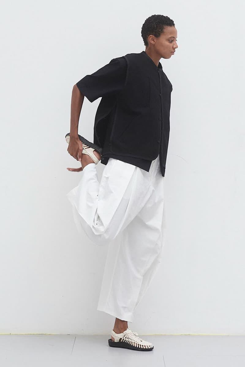 Sage Nation Debut Genderless Clothing Collection toda fashion line menswear womenswear keen uneek sandals