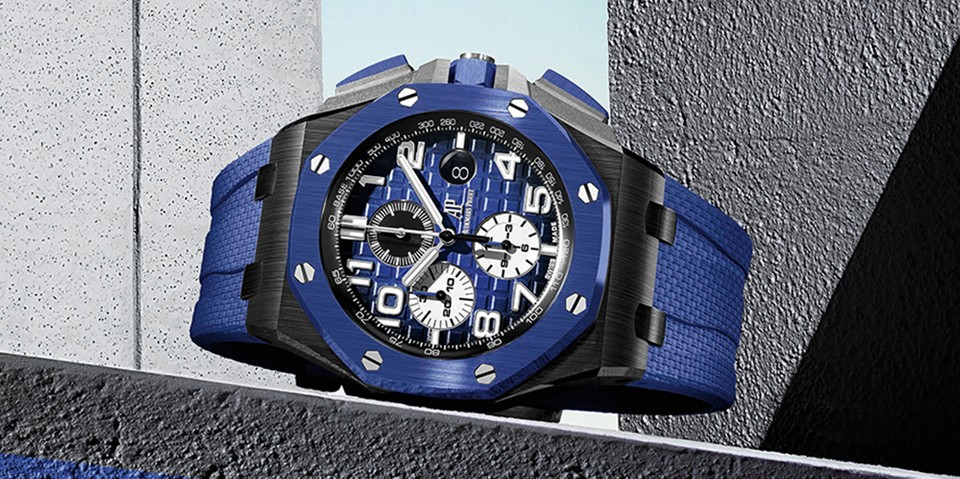 Audemars Piguet Offers New Colorful Options for the Royal Oak Offshore Chronograph