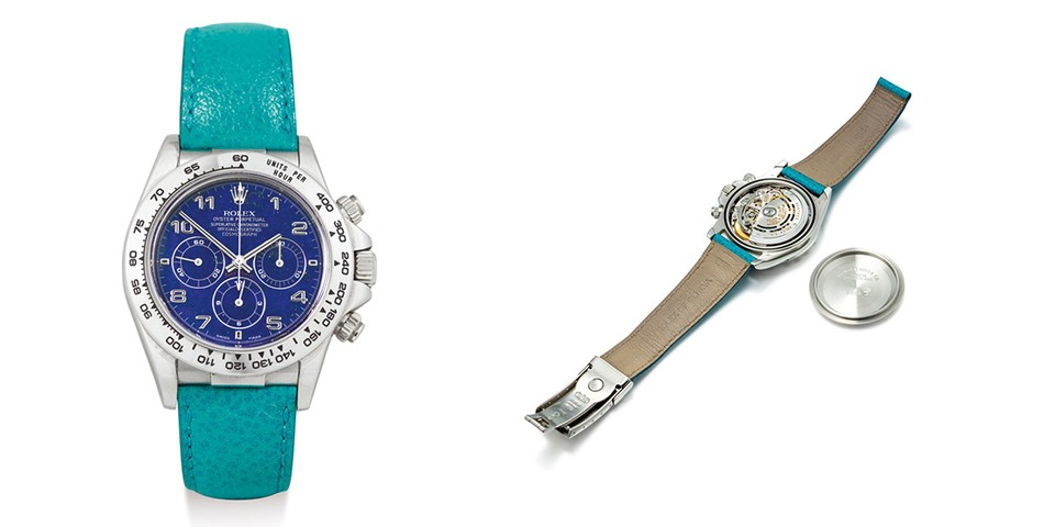 Rare Lapis Lazuli Dial Rolex Daytona Sets New Auction Record