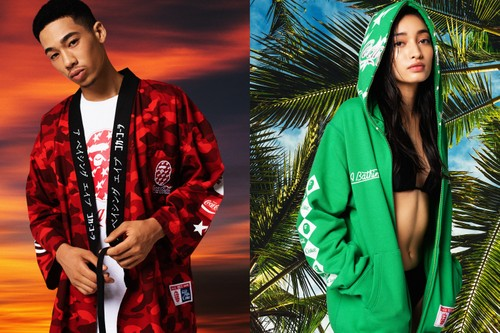 Coca-Cola Joins BAPE in Refreshing Capsule Collection