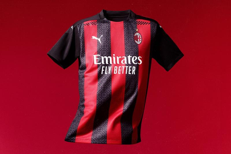 puma ac milan football home jersey release Italy serie a new kit 2020 2021 season